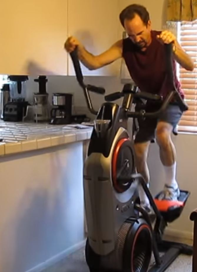 HIIT on the Bowflex Max Trainer M3