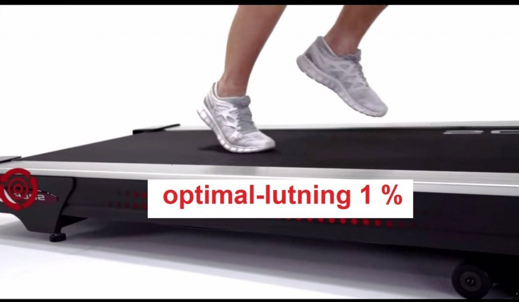 sole f85 treadmill optimal lutning